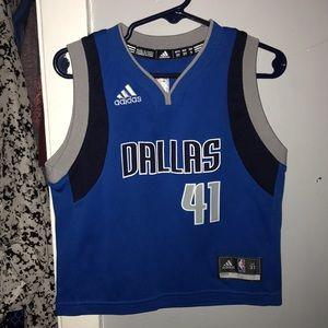 Adidas Dallas Mavericks jersey